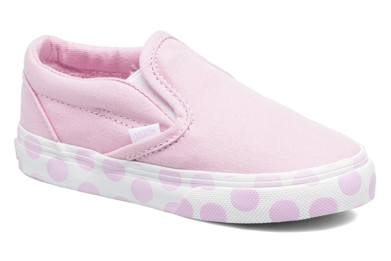 Sneakers Vans Classic Slip-on BB Roze detail