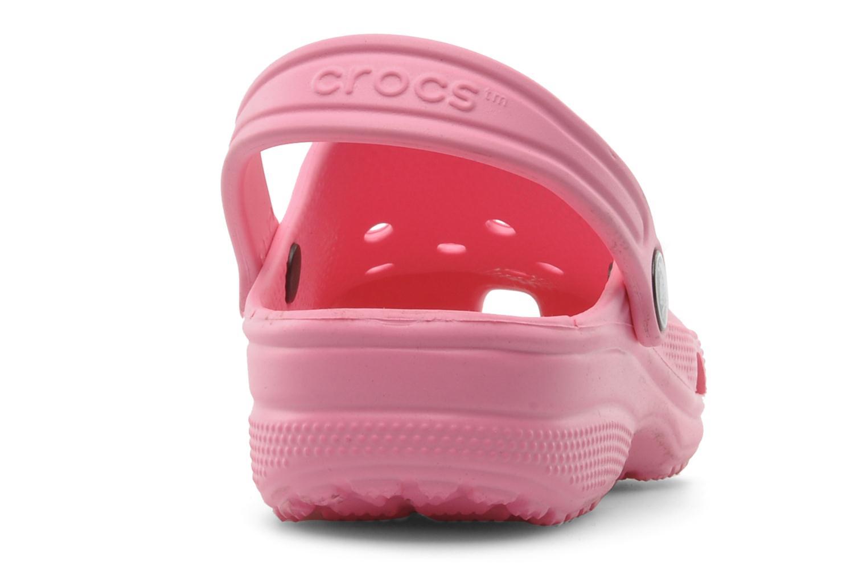 Sandales et nu-pieds Crocs Classic Kids Rose vue droite