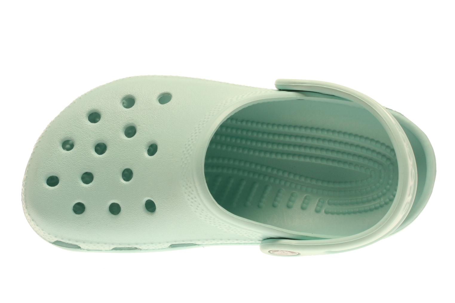 Sandals Crocs Kids Cayman Blue view from the left