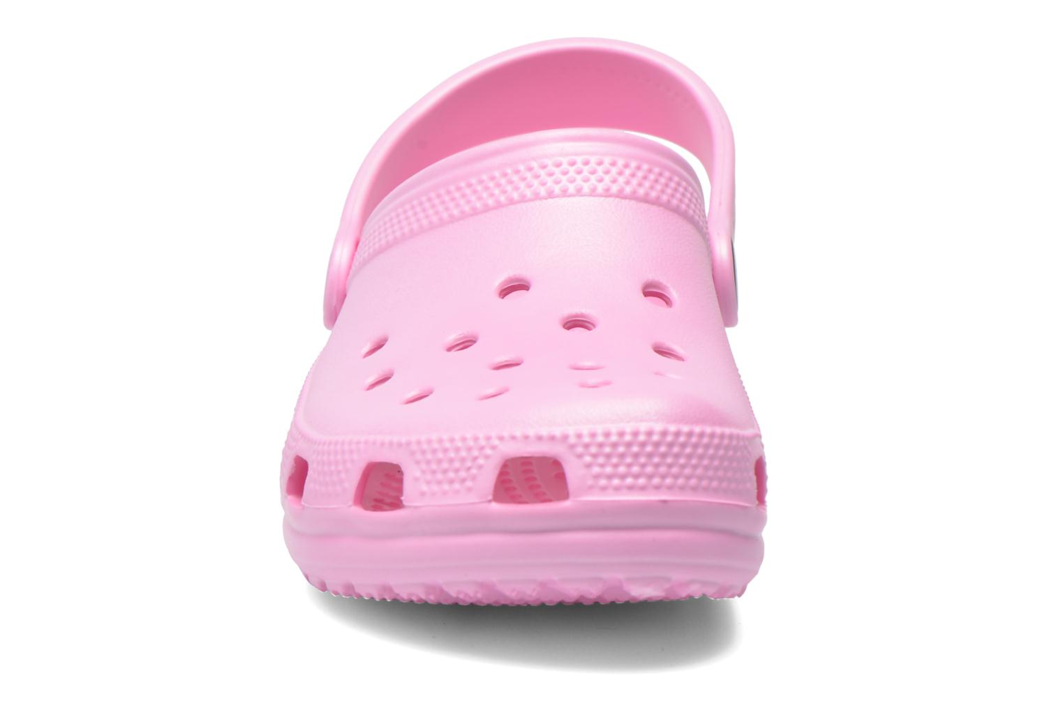 Sandals Crocs Kids Cayman Pink model view