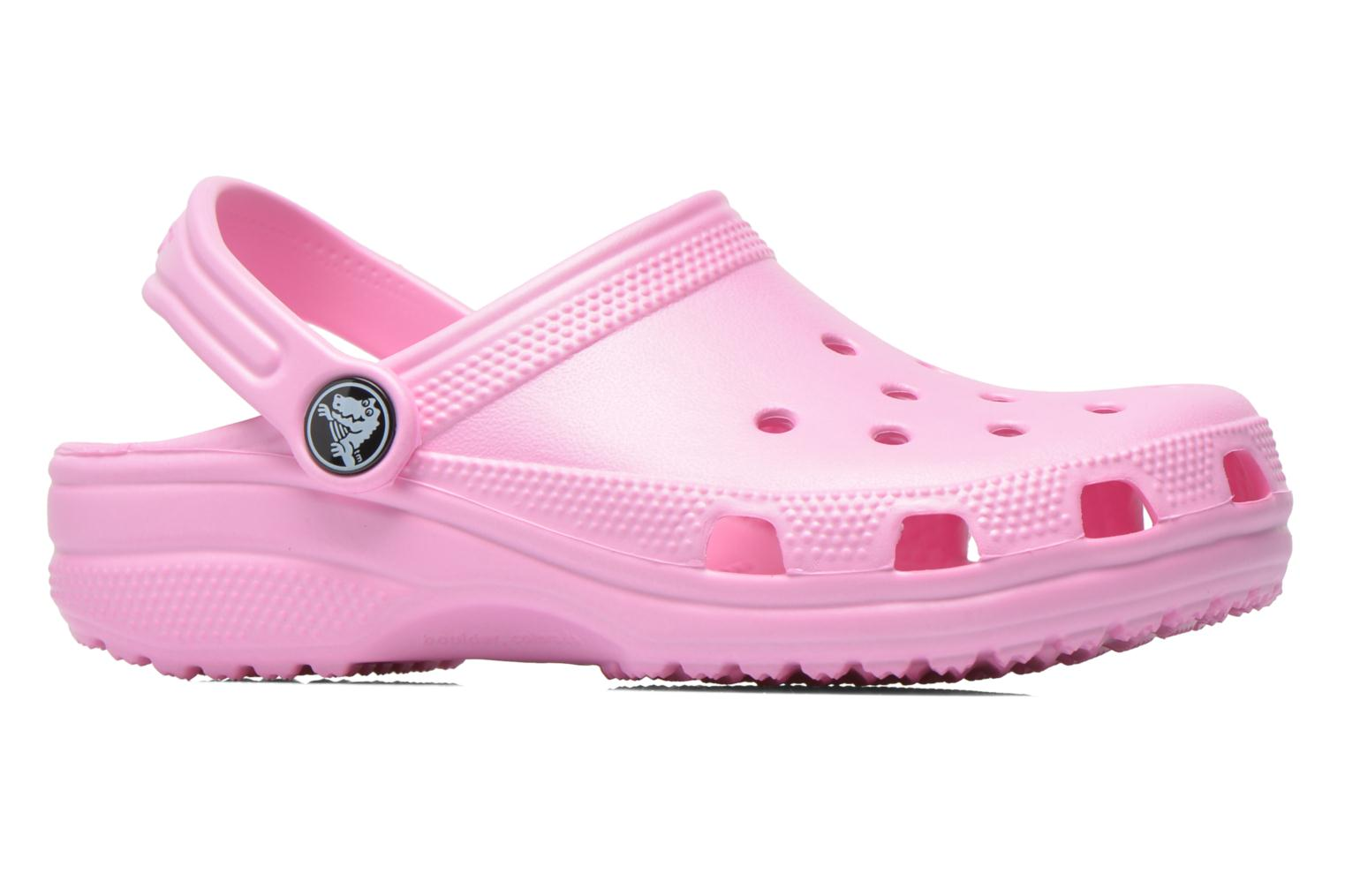 Sandals Crocs Kids Cayman Pink back view
