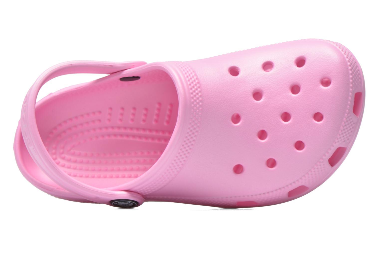 Sandaler Crocs Classic Kids Pink se fra venstre