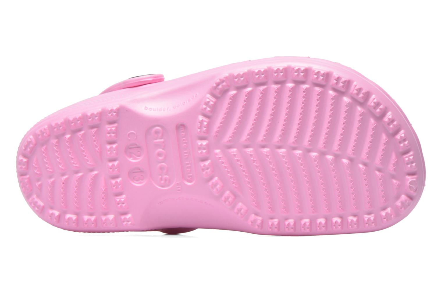 Sandals Crocs Kids Cayman Pink view from above