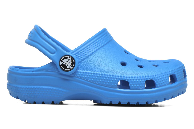 Sandals Crocs Kids Cayman Blue back view