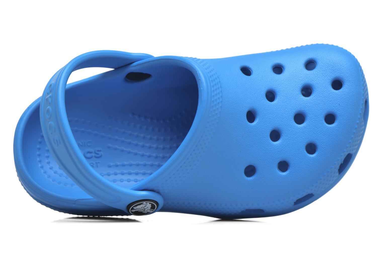 Sandaler Crocs Classic Kids Blå bild från vänster sidan