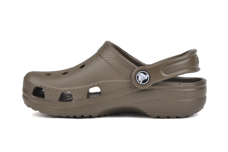 Sandaler Crocs Classic Kids Brun se forfra
