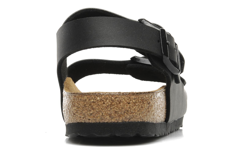 Sandales et nu-pieds Birkenstock Milano Noir vue droite