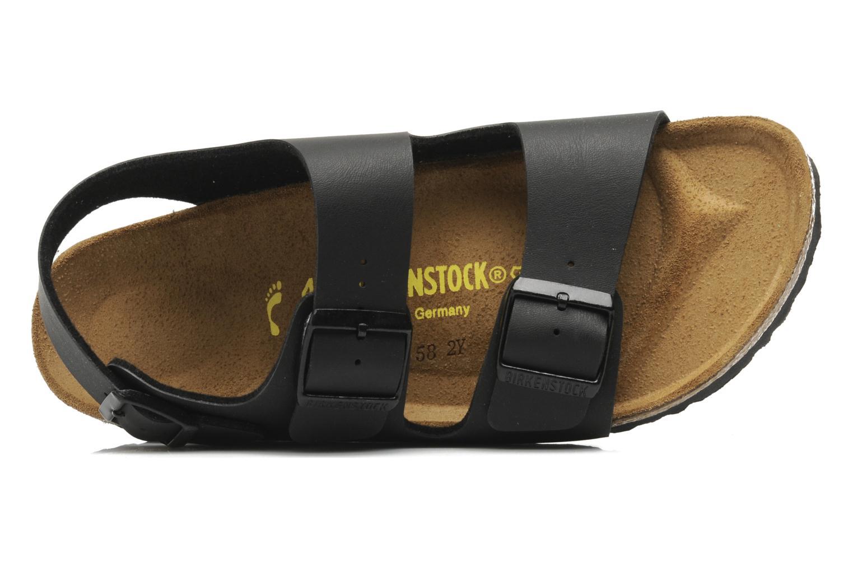 Sandales et nu-pieds Birkenstock Milano Noir vue gauche