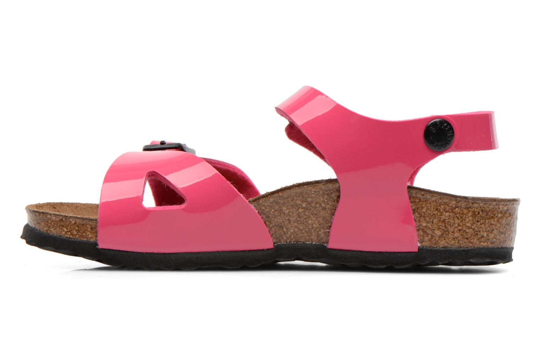 Sandalen Birkenstock Rio Roze voorkant