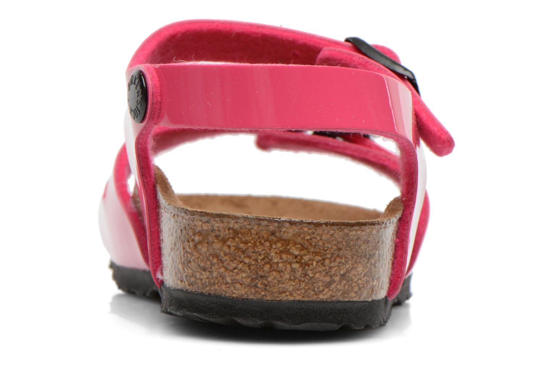 Sandalen Birkenstock Rio rosa ansicht von rechts