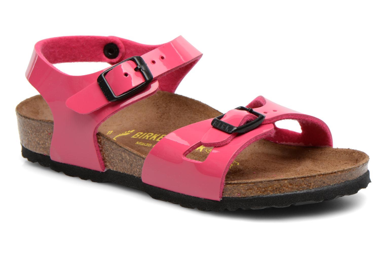 Sandalen Birkenstock Rio Roze detail