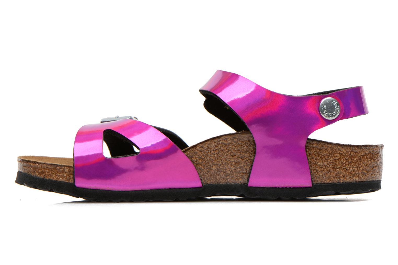 Sandales et nu-pieds Birkenstock Rio Rose vue face