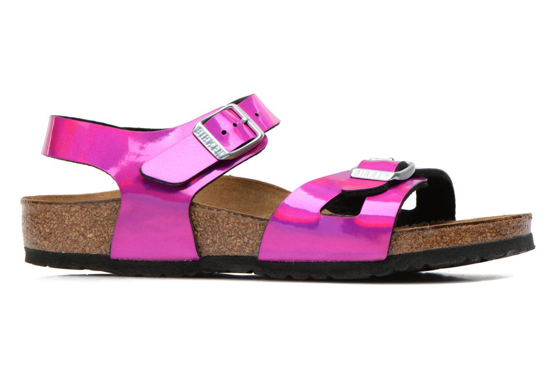 Sandales et nu-pieds Birkenstock Rio Rose vue derrière