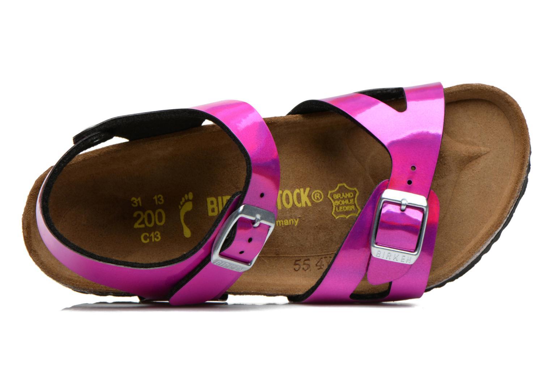 Sandales et nu-pieds Birkenstock Rio Rose vue gauche