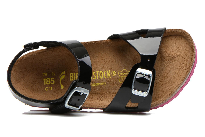 Sandales et nu-pieds Birkenstock Rio Noir vue gauche