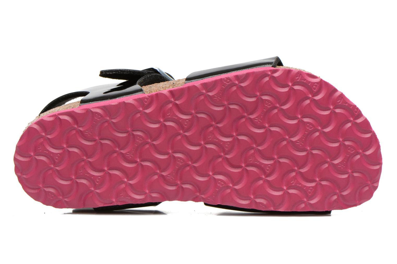 Rio (Smal model) Vernis Noir / LS pink