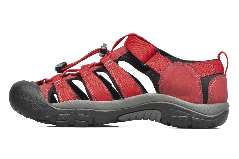 Sandalen Keen Newport H2 rot ansicht von vorne