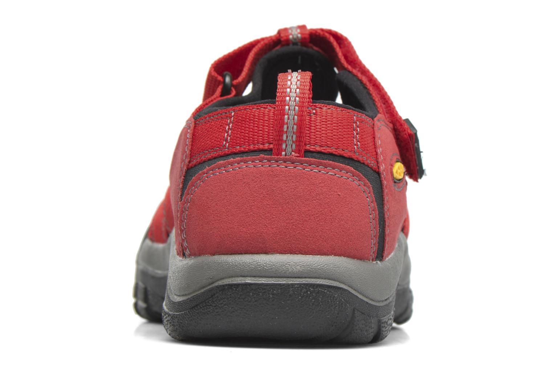 Sandales et nu-pieds Keen Newport H2 Rouge vue droite
