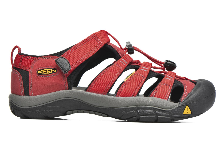 Sandales et nu-pieds Keen Newport H2 Rouge vue derrière
