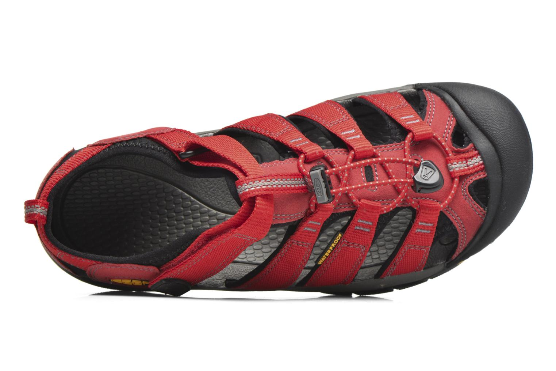 Sandales et nu-pieds Keen Newport H2 Rouge vue gauche