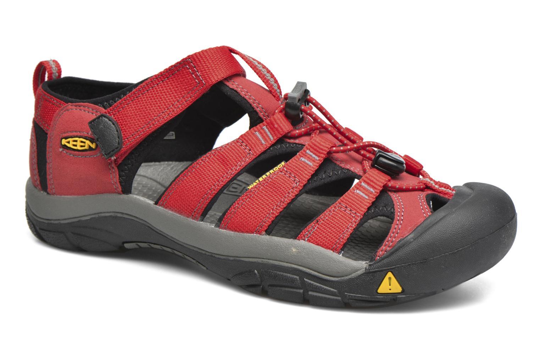 Sandales et nu-pieds Keen Newport H2 Rouge vue détail/paire