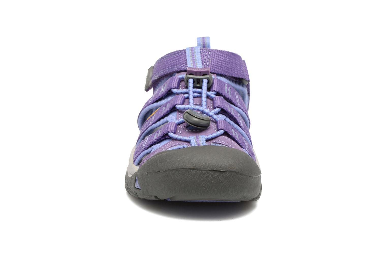 Sandalen Keen Newport H2 lila schuhe getragen