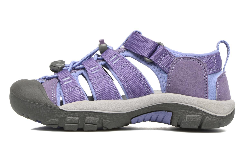 Sandales et nu-pieds Keen Newport H2 Violet vue face