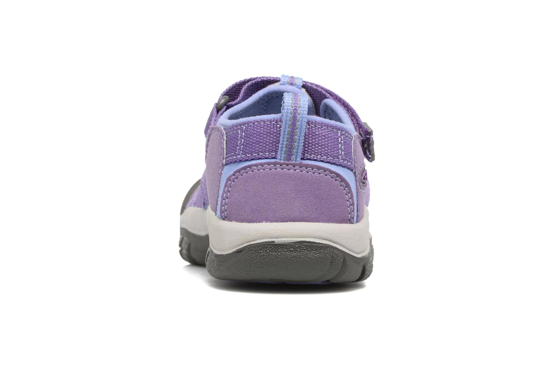 Sandales et nu-pieds Keen Newport H2 Violet vue droite