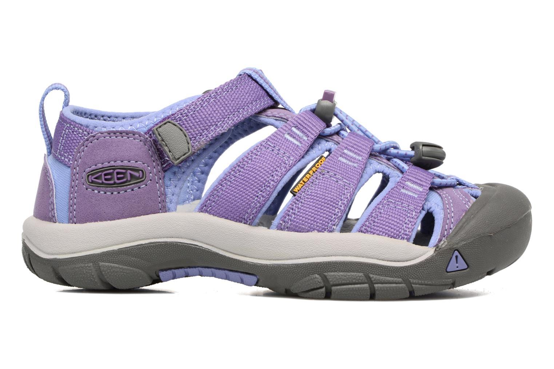Sandales et nu-pieds Keen Newport H2 Violet vue derrière