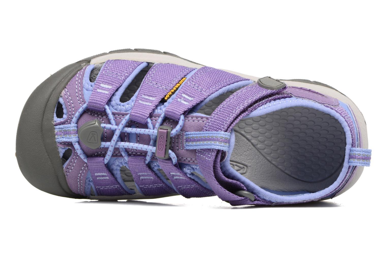 Sandalias Keen Newport H2 Violeta      vista lateral izquierda