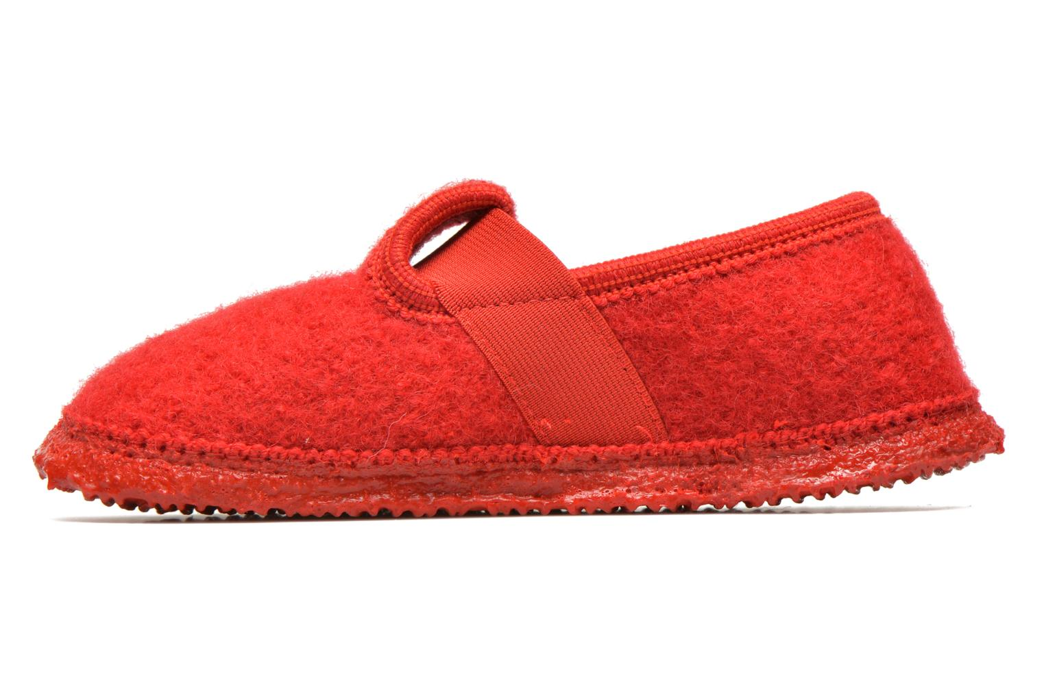 Slippers Giesswein Türnberg Red front view