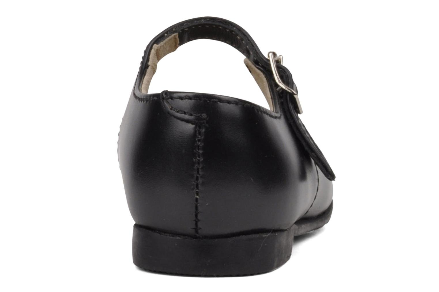 Clare Black leather