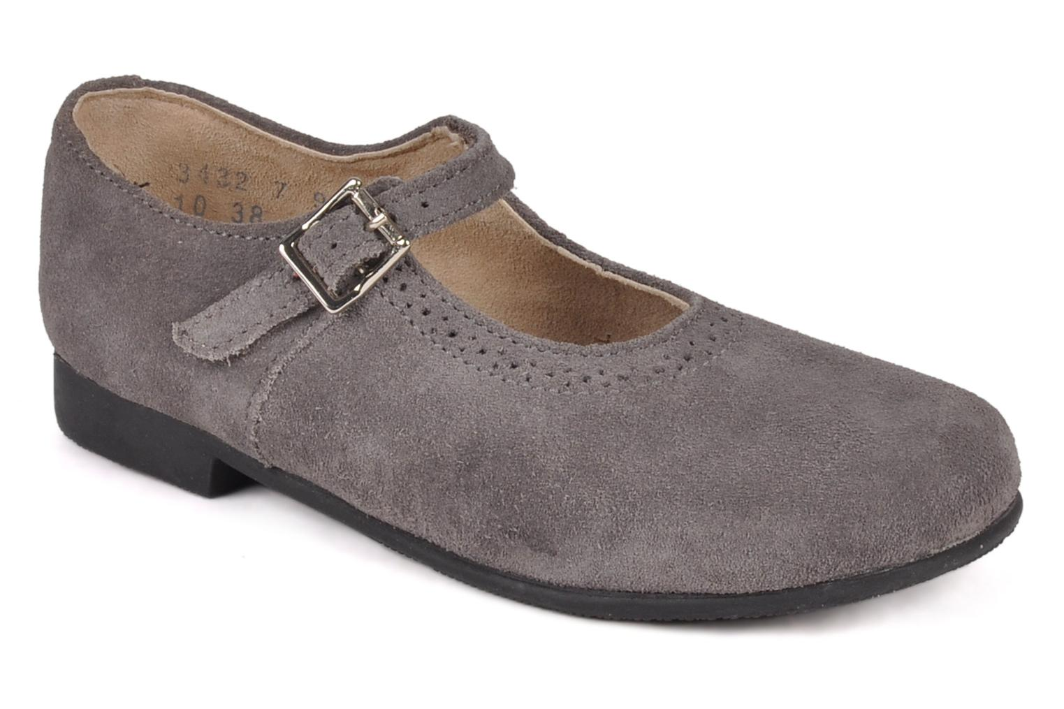 Clare Pewter suede