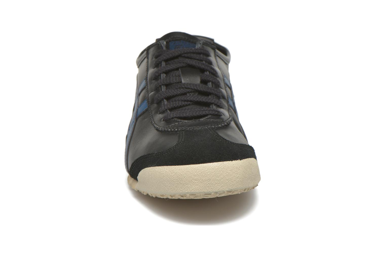 Baskets Onitsuka Tiger Mexico 66 Noir vue portées chaussures