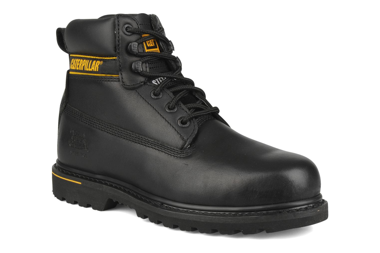 Bottines et boots Caterpillar Holton SB Noir vue détail/paire
