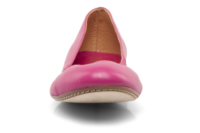 Ballerinas Maloles Georges rosa schuhe getragen