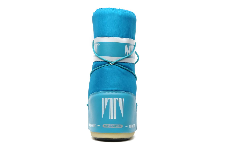 Zapatillas de deporte Moon Boot Moon Boot Nylon Azul vista lateral derecha