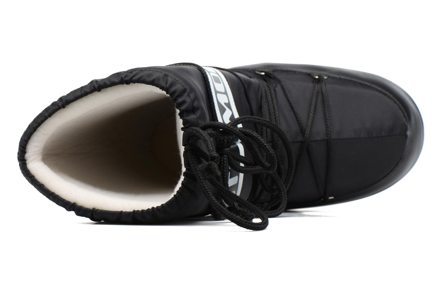 Sport shoes Moon Boot Moon Boot Nylon Black view from the left