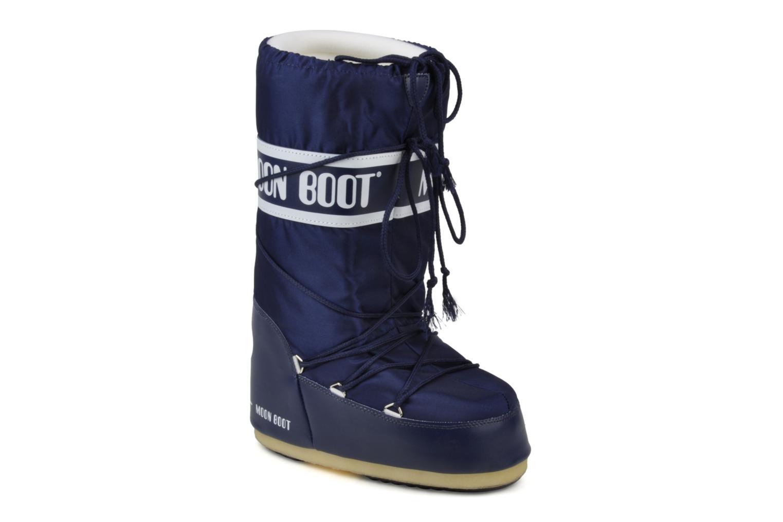 Sportskor Moon Boot Moon Boot Nylon Blå detaljerad bild på paret