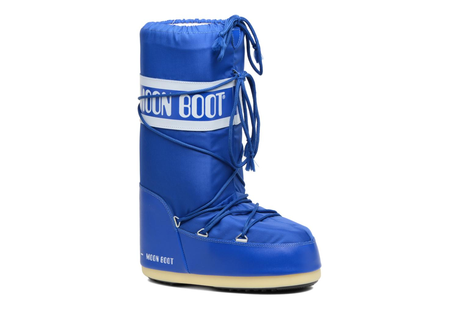 Moon Boot Nylon Electric Blue