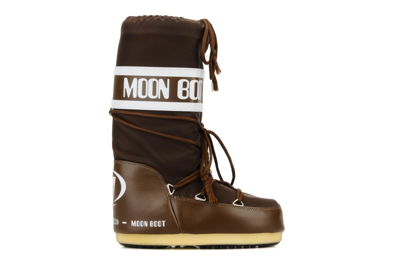 Chaussures de sport Moon Boot Moon Boot Nylon W Marron vue derrière