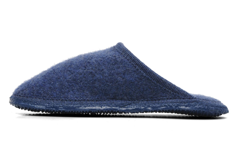 Pantoffels Giesswein Tino Blauw voorkant