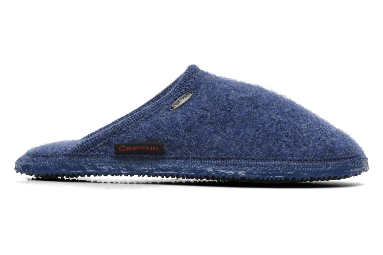 Pantoffels Giesswein Tino Blauw rechts