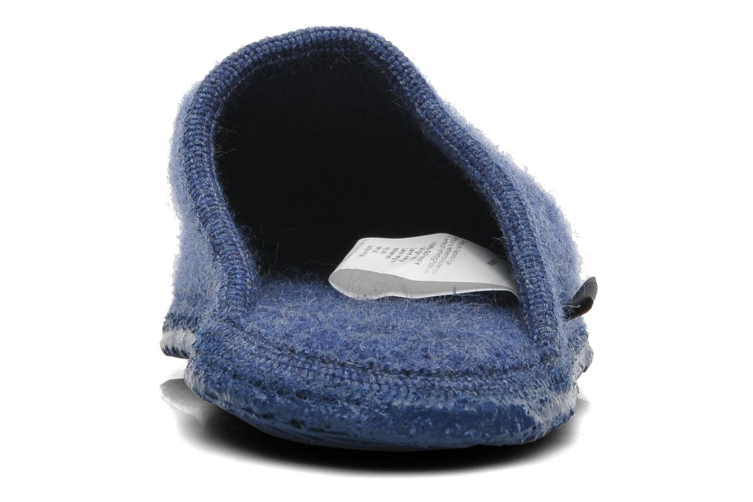 Slippers Giesswein Tino Blue back view