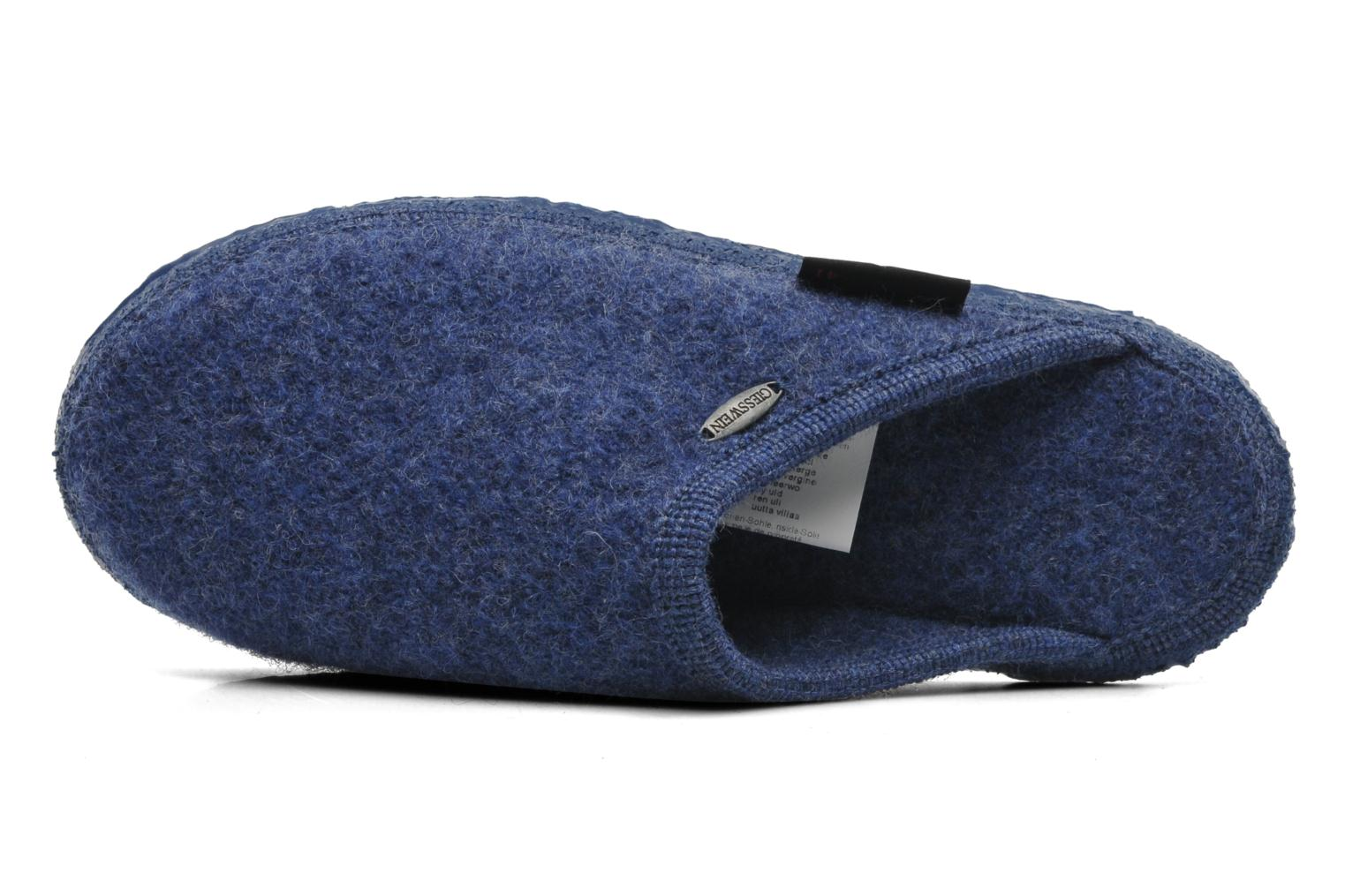 Slippers Giesswein Tino Blue view from the left