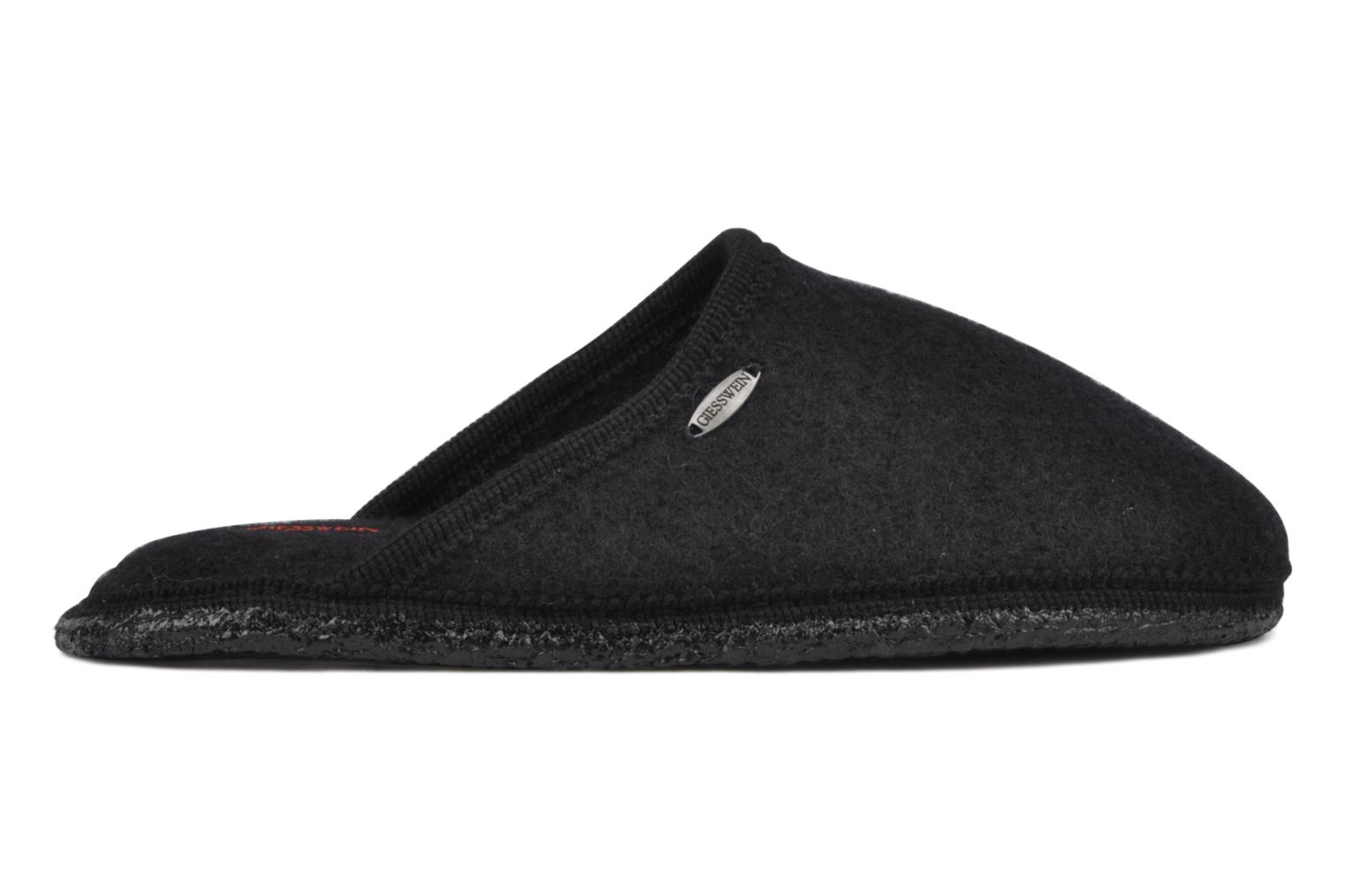 Slippers Giesswein Tino Black back view