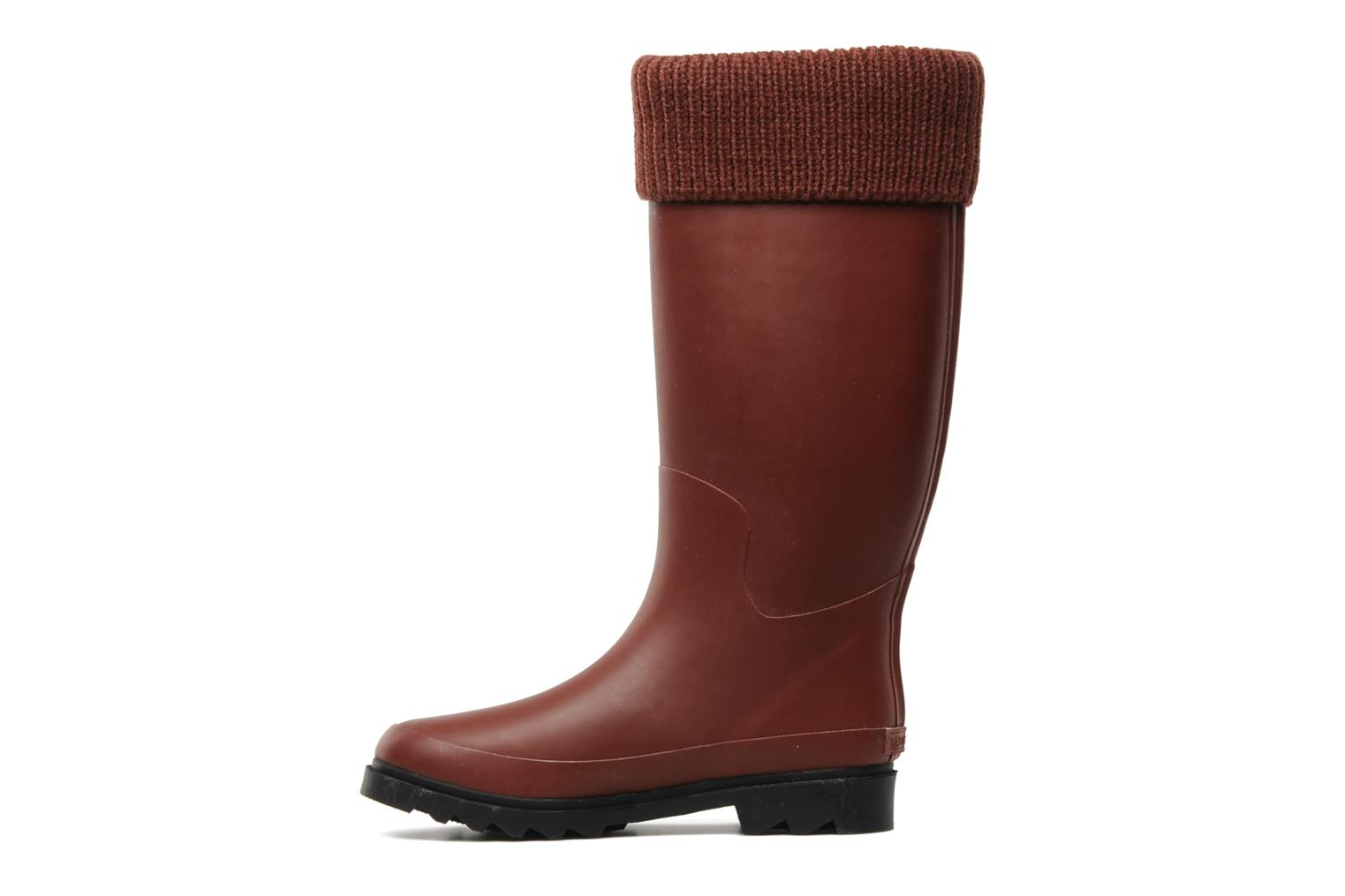 Boots & wellies Tatoosh Socks Burgundy front view