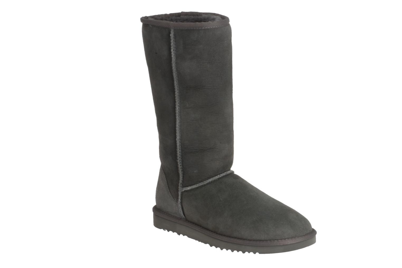 Bottines et boots UGG Classic Tall Gris vue détail/paire