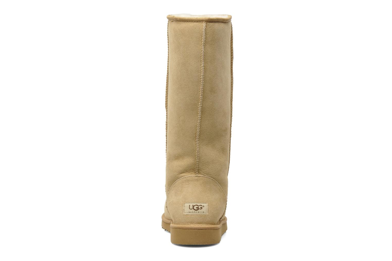 Bottines et boots UGG Classic Tall Beige vue droite