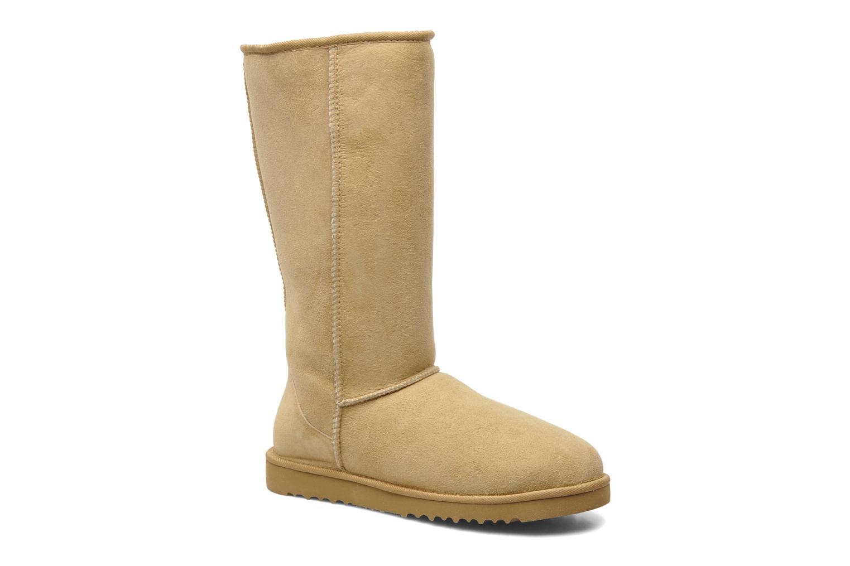 Bottines et boots UGG Classic Tall Beige vue détail/paire